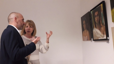 Nasimo's Exhibition was Displayed First in Sofia