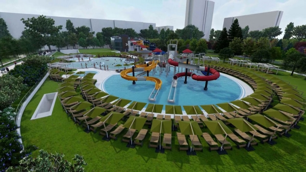 Sofia is Building a Leisure Center for the Whole Family